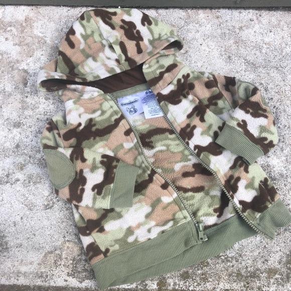 Garanimals Other - Garanimals Camouflage Fleece Jacket 0-3 Months